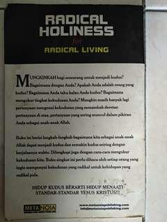 Radical Holiness