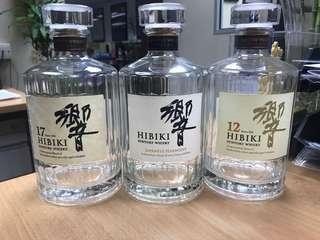 HIBIKI Suntory Whisky bottle