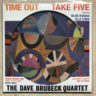 Dave Brubeck Time Out Take Five Picture Vinyl LP