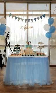 Dessert Table Decoration Items For Sale / Rent