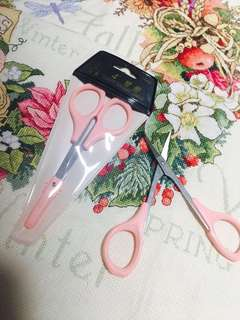 Quality scissors-curved