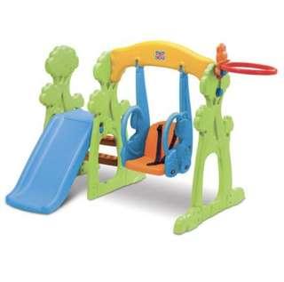 Grow and Up Swing Slide Set