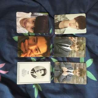 EXO OFFICIALS PHOTOCARDS