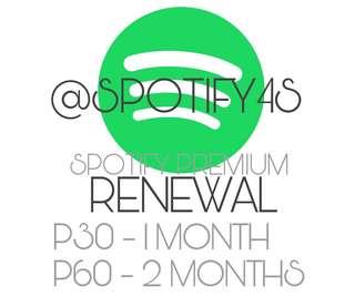 Spotify Premium Renew (1 Month)
