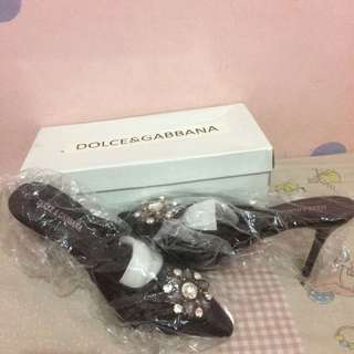 Dolce & gabana heels premium