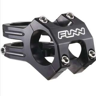 🆕! Funn 60mm MTB STEM 31.8mm Black #OK    MTB / Fixie / Mountain Bike / Road Bike / Enduro / Downhill / Freeride / Bicycle / Bmx / Fat Bike / Escooter
