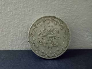 Silver Ottoman 5 khurush