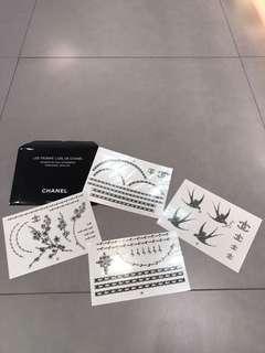 CHANEL 紋身貼紙 (💯Real真品)
