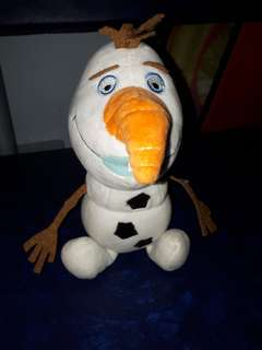 Olaf stuffed toy