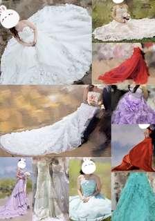 [婚禮物資] 婚紗禮服 list (不斷更新)