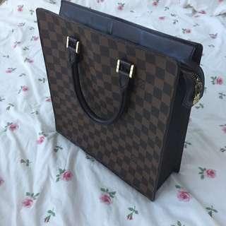 Authentic LV Louis Vuitton Bag Women's Document Case Damier
