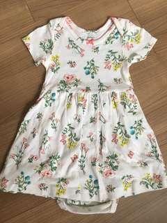 EUC carter's floral dress