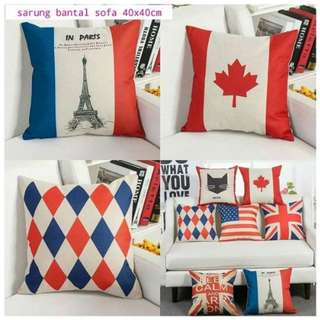 FLAG SERIES Sarung Bantal