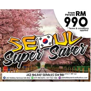 Pakej Seoul Super Saver