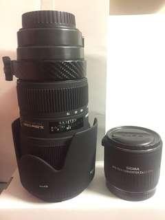 Sigma lens 70-200 f2.8 HSM canon
