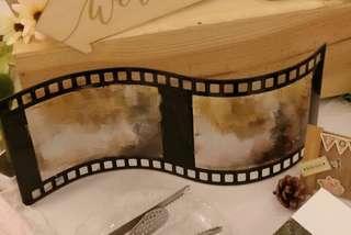 [婚禮佈罝] 電影🎬菲林型相架 photo corner 適用