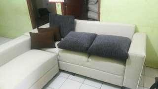 sofa l ruang tamu sale