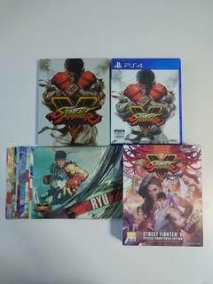 PS4 Street Fighter V Special Shoryuken Edition