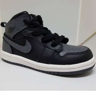 Nike 休閒鞋 Air Jordan 1代 Mid 童鞋 14公分