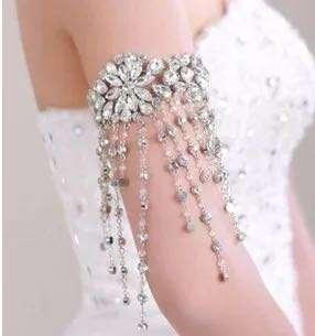 [PW/Big Day] 韓式 華麗閃燿 婚紗手臂鏈 遮手臂 (全新)  (包平郵) #mayflashsale