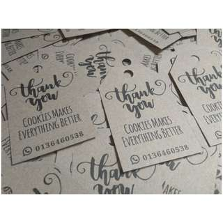 craft paper tag 100pcs