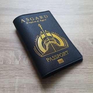 🚚 CUSTOM PASSPORT HOLDER ASGARD thor marvels avengers