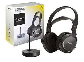 sony mdr-rf810r wireless headphones