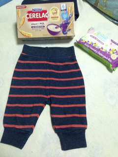 Pants w/free Cerelac and Smartsteps