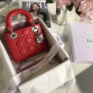 Christian Dior Ladybag MINI 17cm