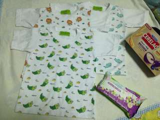 T-shirt w/free Cerelac and Smartsteps
