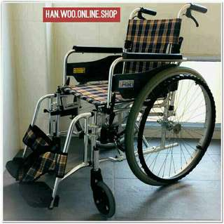 Aluminium Lightweight Wheelchair 16""