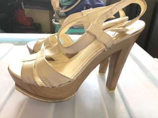Pre-loved Charles and Keith Sandals