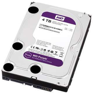 4TB Western Digital Purple Hard Drive Disk for CCTV