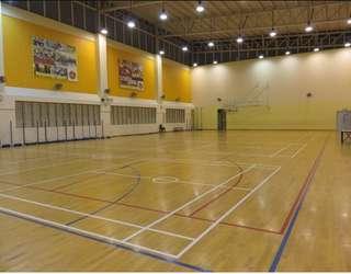 Badminton Game at Junyuan Primary School