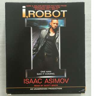 i,Robot Audiobook (CD) by Isaac Asimov
