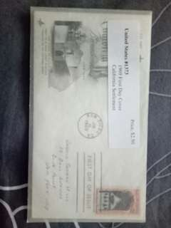 1969 First Day Cover