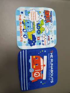 The Runabouts Blue Two Mini Towels