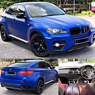 SAMBUNG BAYAR / CONTINUE LOAN  BMW X6 3.0 DIESEL TWIN TURBO TAHUN 2008/2013