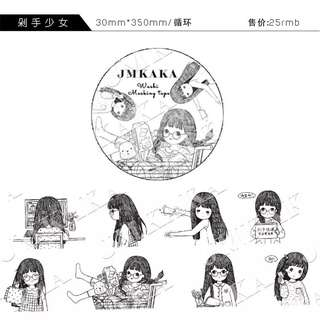 JMKAKA 美嘉 MT紙膠帶分裝 每循環3蚊
