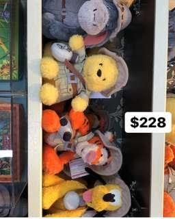 東京迪士尼winnie the pooh 系列