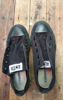 Original Converse Black Low Cut Sneakers