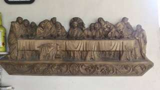 Last Supper Wood Engraving
