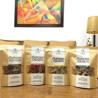 Mushroom Chicharon (50g per pack)