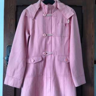 MOOKS Peach Duffle Coat Small/10