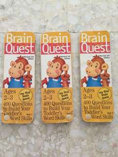 <reserved> Brain quest ages 2-3