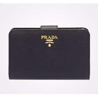Prada bi fold wallet