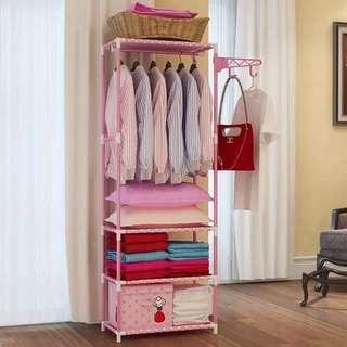 Simple wardrobe cabinet