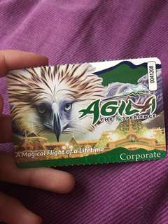 Enchanted Kingdom Park+Agila 1 ticket