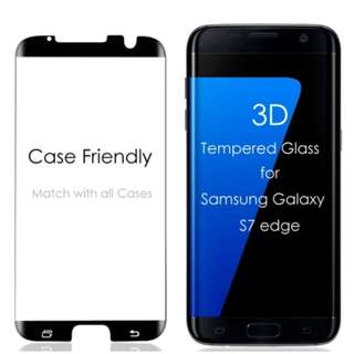 Samsung S7 Edge Case Friendly Screen Protector