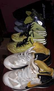 jual 3 sepatu basket.. original.. maaf box sudah hilang..